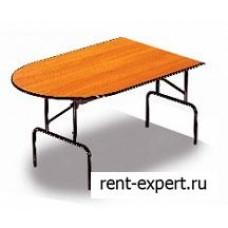 Стол складной сегмент