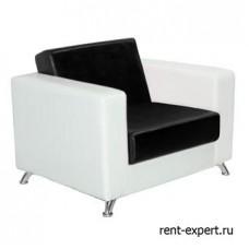 Кресло из искусственной кожи