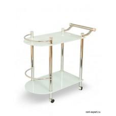 Столик сервировочный стекло