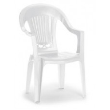 Стул пластиковый белый
