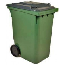 Ведро мусорное на колесах 120л