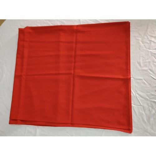 Скатерть прямоугольная красная, 250х150см. Ю.Корея