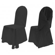 Универсальный чехол на стул или кресло, цвет черный, Южная Корея.