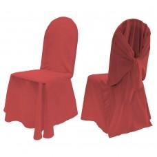 Универсальный чехол на стул или кресло, цвет красный, Южная Корея.