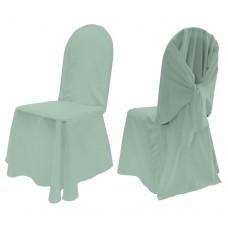 Унверсальный чехол на стул или кресло , цвет зеленый, айвори, Южная корея.