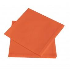 Салфетка, хлопок 16%, полиэстер 84%, цвет оранжевый, Белоруссия