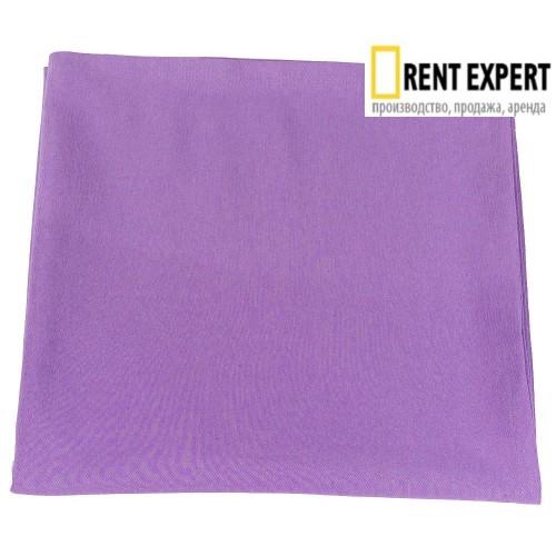 Скатерть наперон круглая d190см, фиолет, хлопок, Испания