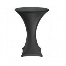 Черный стрейч чехол на коктейльный стол