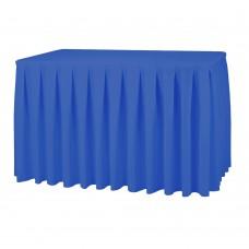 Юбка банкетная, ярко-синий, 570х73см