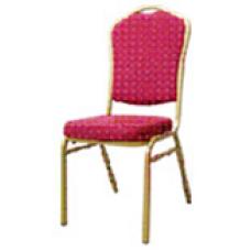 Стул БАНКЕТНЫЙ с красным сиденьем