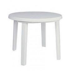 Стол пластиковый круглый