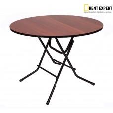 Стол круглый в аренду, кофе-брейк, d90х75см.