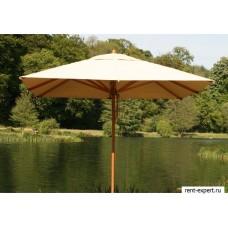 Зонт квадратный LEVANTE 3х3 метра BAMBOO