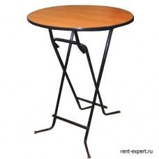 Стол коктейльный круглый 70х110см