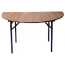 Стол складной полукруглый