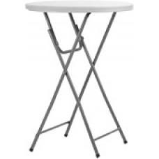 Стол коктейльный Ø80хh110 см. пластик
