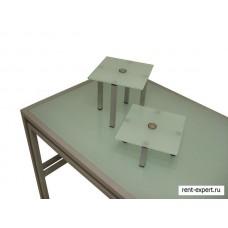 Столы буфетные со стеклом