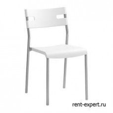 Белый пластиковый стул Ловер