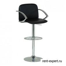 Высокий барный стул с удобными подлокотниками