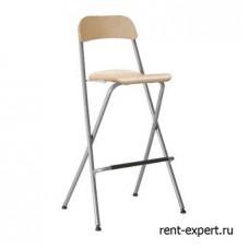 Складной барный стул