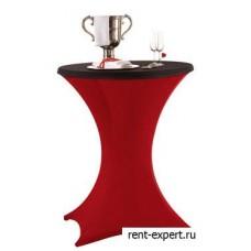 Чехол стрейч на коктейльный стол с напероном