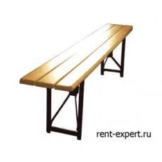 Скамейка реечная