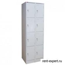 Шкаф на 8 секций с индивидуальными замками