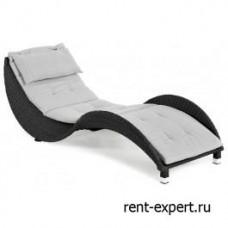 Матрас для шезлонга и лежака Ocean-2 серый