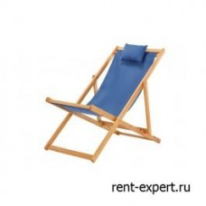Шезлонг деревянный Veliero-I синий