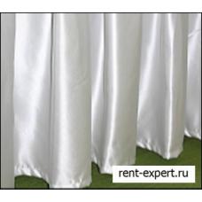 Юбка для стола 5000*750 мм, тк 100% пэ цв. Белый