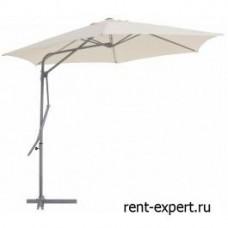 Зонт круглый Lantern-2 бежевый