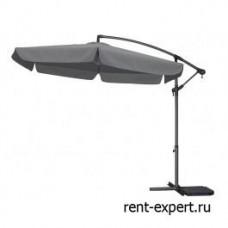 Зонт круглый Lantern-New серый